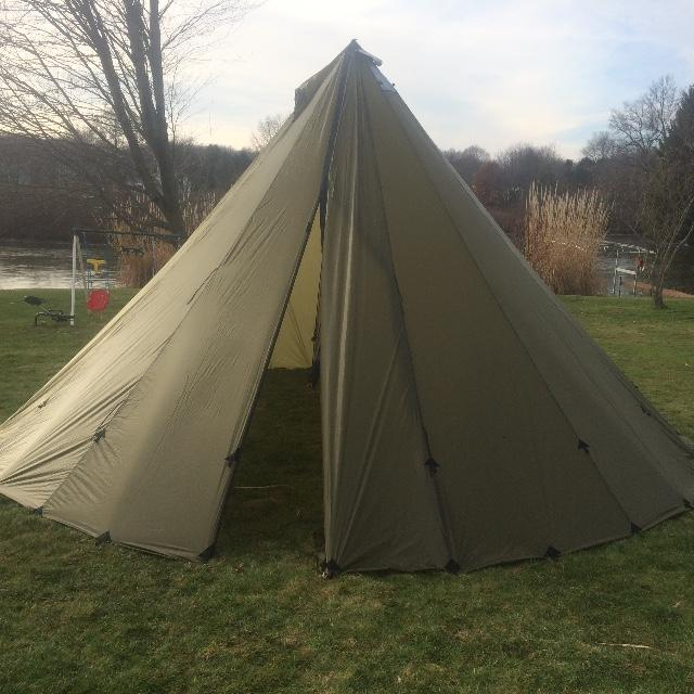 16 Man Tipi Dual Screens Half Liner & Customer Adventures