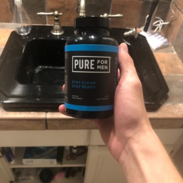 Pure for Men - Cleanliness & Digestive Health Fiber Supplement