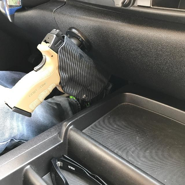 Mounted™ Vehicle Holster