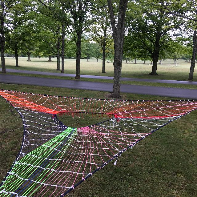 its a hammock   made entirely out of 2 lb bag 550 paracord  closeout   rh   rwrope