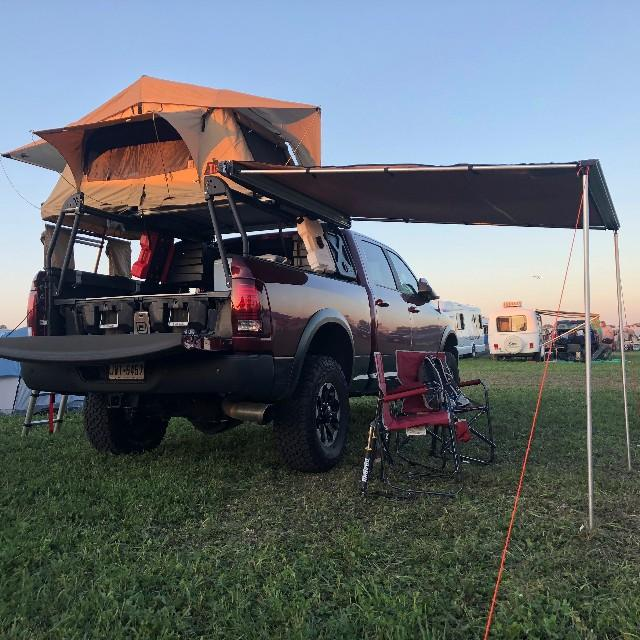 Work Tools Stay In One And Camping Gear