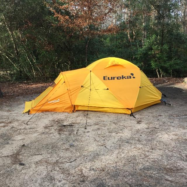 Double Lake Recreation Tx & Eureka K-2 XT Expedition Tent - 3 Person - austinkayak.com