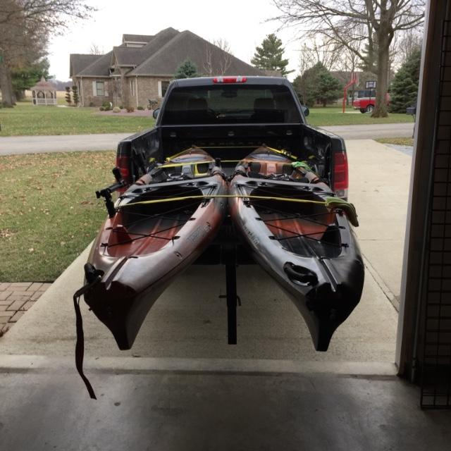 How To Haul A Kayak In A Truck Bed