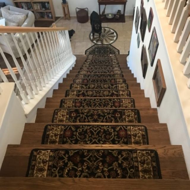 A Beautiful Solution For Slippery Wood Stairs! My Rottweiler Is A Heafty  Boy, And These Beautiful Stair Treads Are An Amazing Fix For His (and Our)  Safety.
